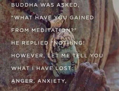 40 daagse meditatie – voortgang